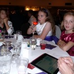 picture of girls at wedding reception
