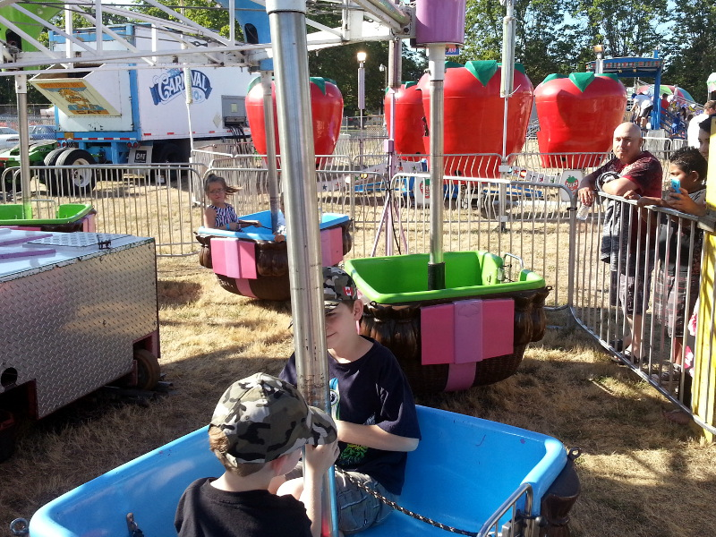 Fun at the Newberg Fair