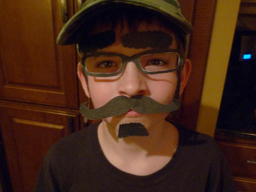 Picture of Davison Huber in disguise
