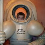 Picture of Brock at Space Center Houston
