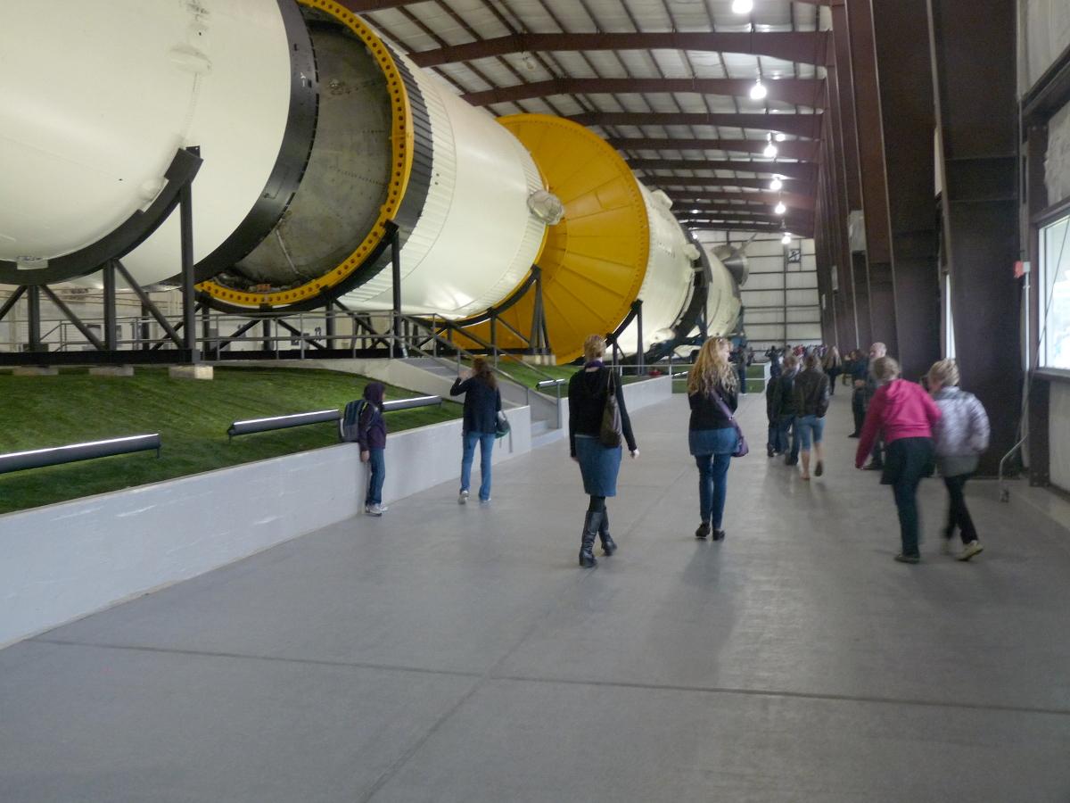 Picture of Saturn V rocket