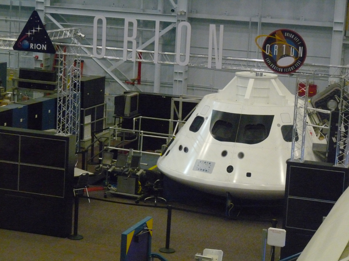 Picture of NASA Orion capsule