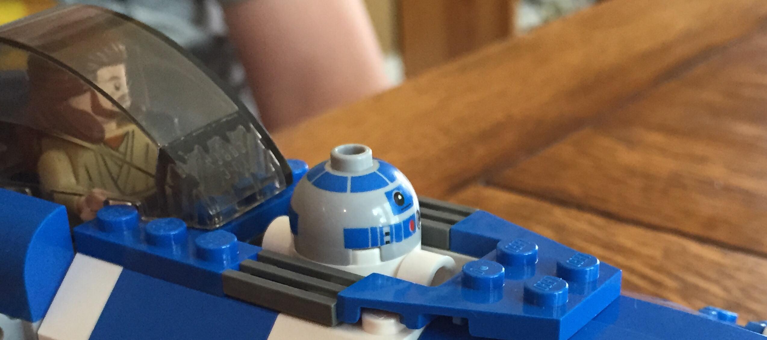 Lego Plo Koon's Jedi Starfighter