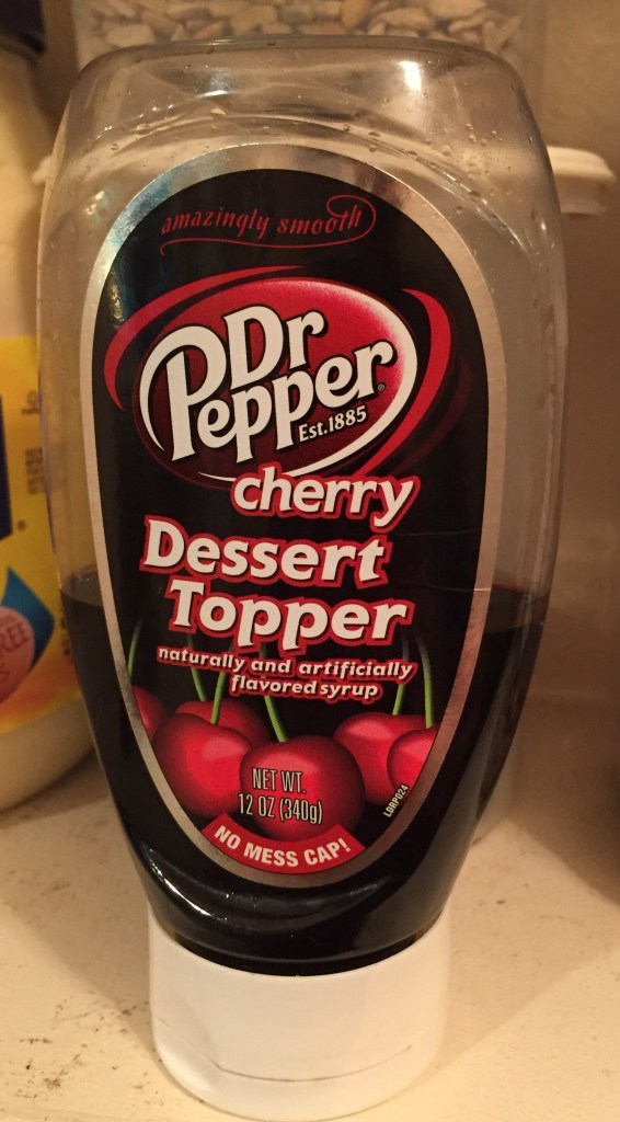 picture of Dr Pepper cherry Dessert Topper