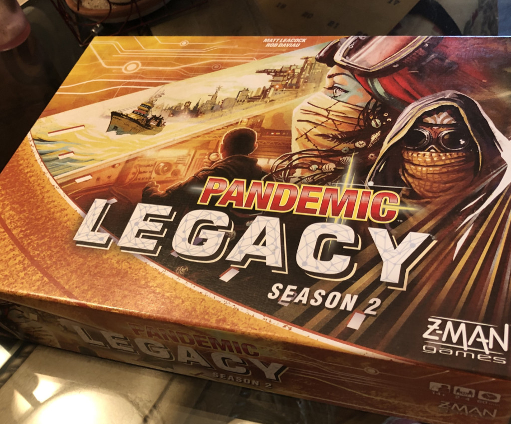 Saving the World: Pandemic Legacy 2