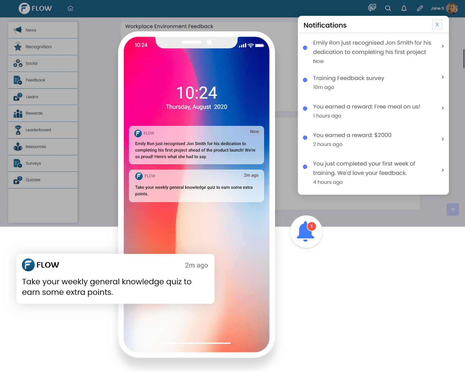 Push notify and remind automatically