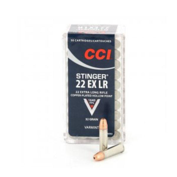 Streljivo CCI .22LR STINGER EX