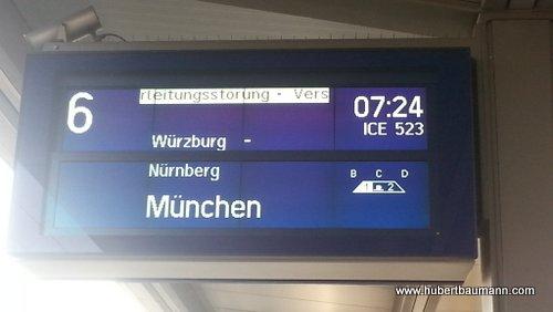 Zug-Aschaffenburg-Muenchen