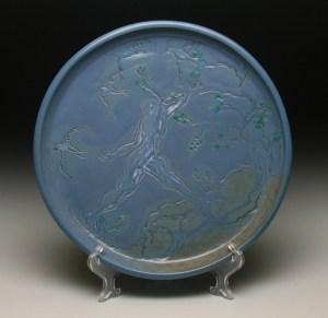 Blue Man Platter72