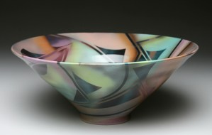black shape bowl