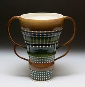 double stripe vase