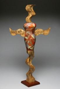 23. Wood Wings Jar