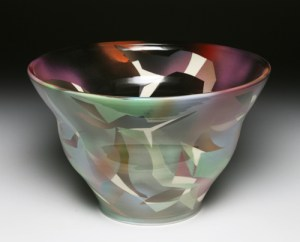 w. Cut Shape Large Bowl