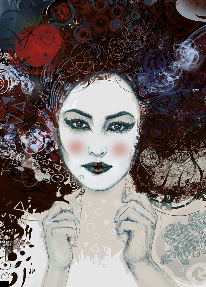 limited edition greeting cards geisha by hubert fine art 1
