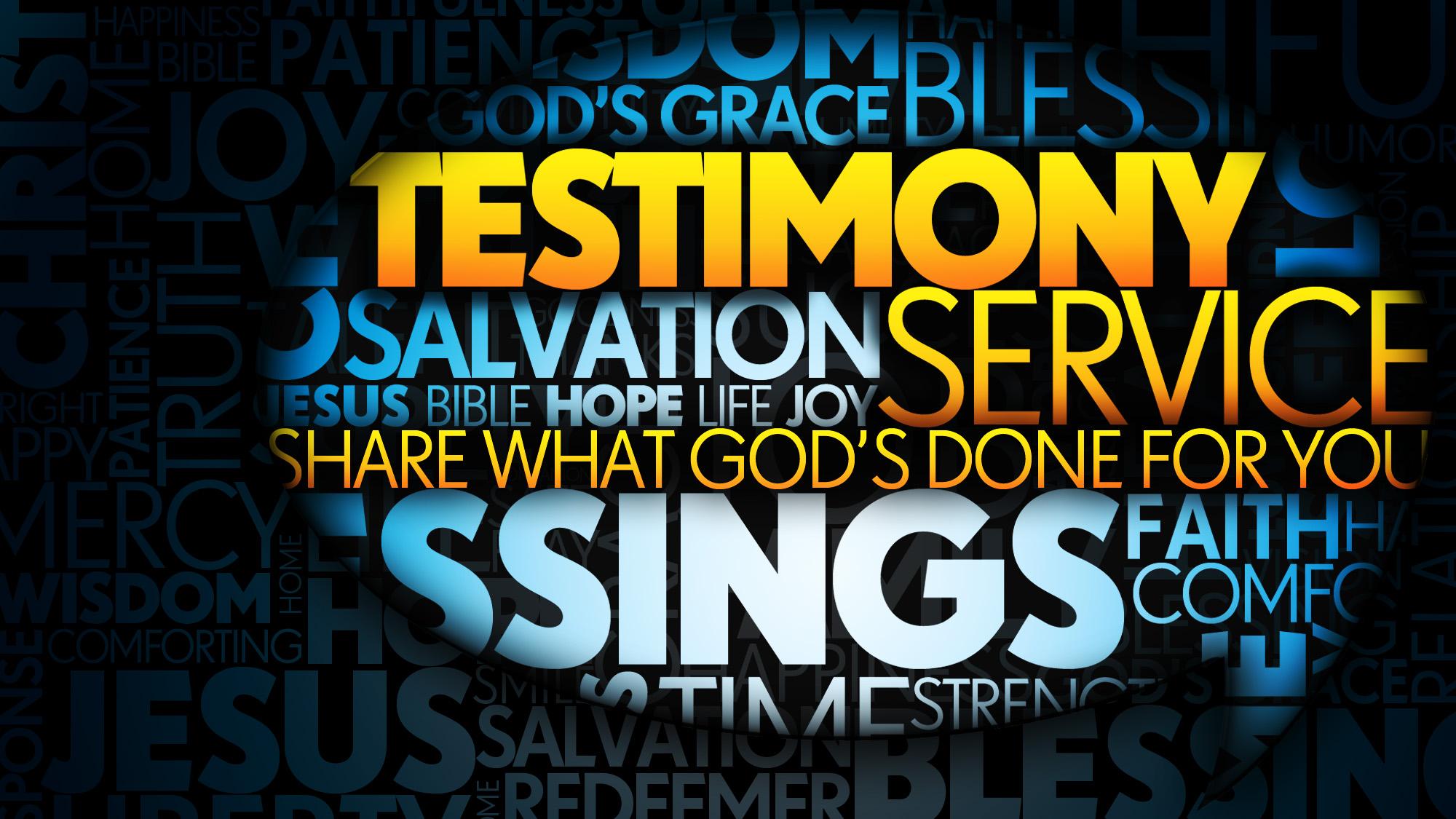 Testimony Truth Still Matters 18
