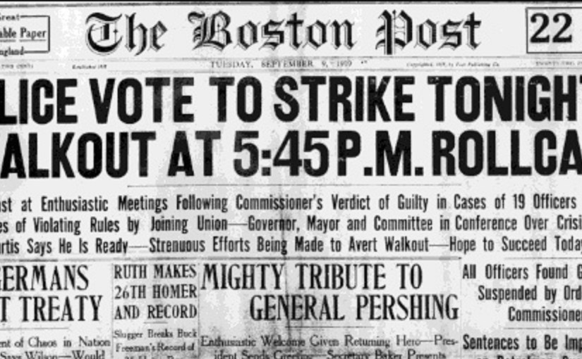 Episode 28: The 1919 Boston Police Strike