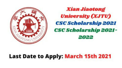 Photo of Xi'an Jiaotong University CSC Scholarships 2021 in China – Fully Funded