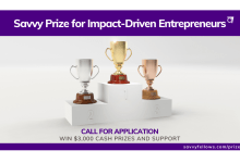 Photo of Savvy Prize for Impact-Driven Entrepreneurs (Win $3,000 Cash Prizes and Support)
