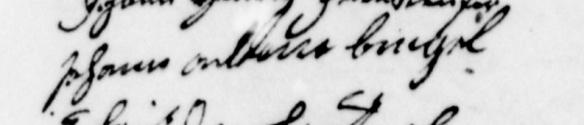 signature adam 1764