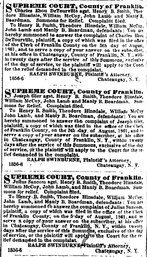 Malone (NY) Frontier Palladium, Thursday September 19, 1861