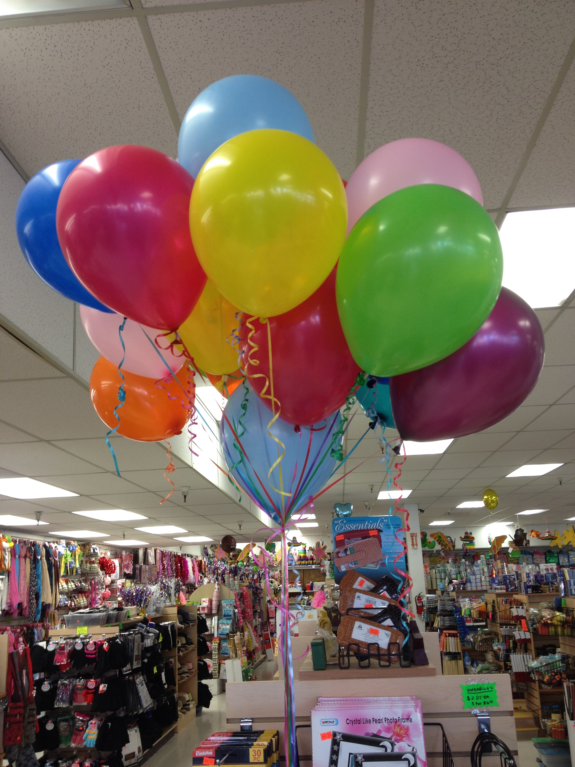 Assorted Color Balloons