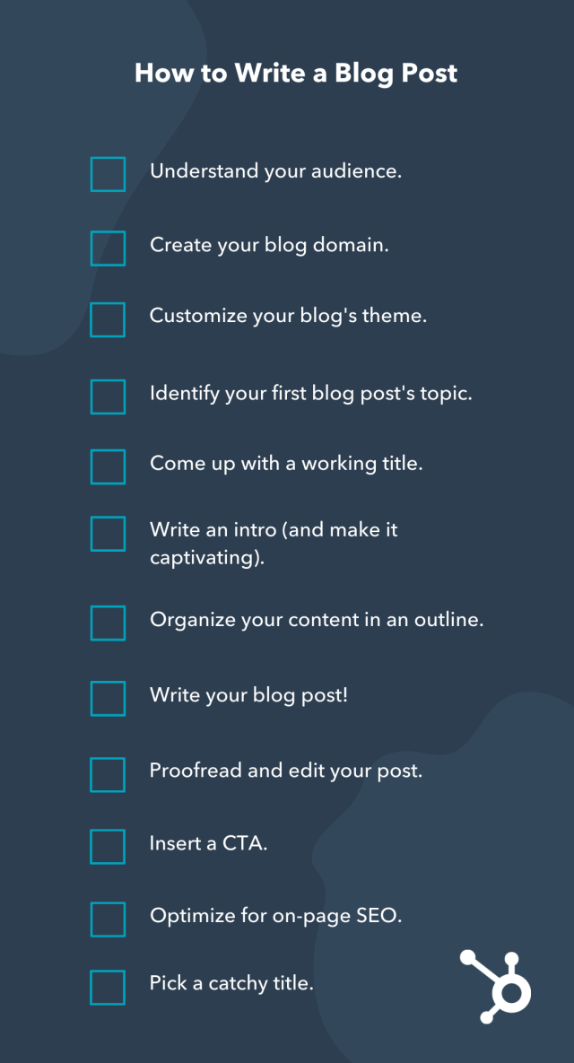 How to Write a Blog Post: A Step-by-Step Guide [+ Free Blog Post