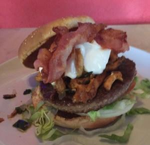Action Burger -The Lumber Jack