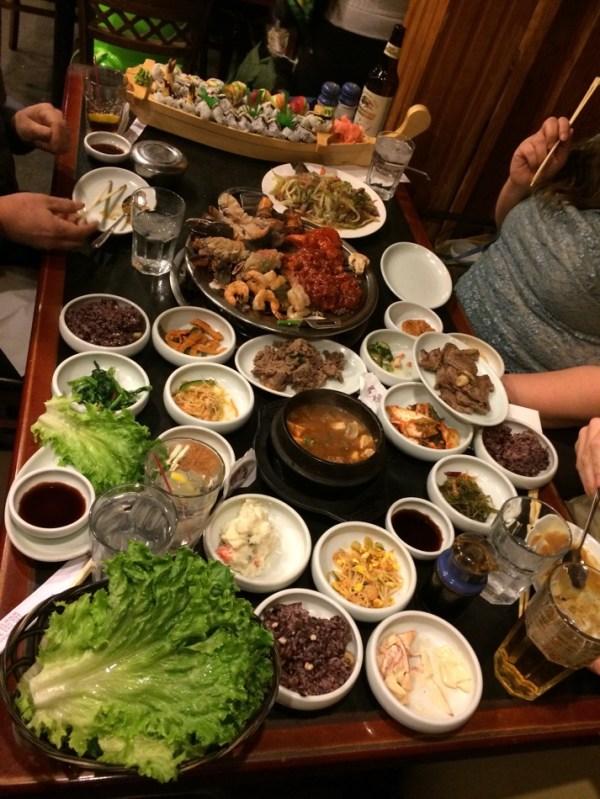 Korean smorgasbord