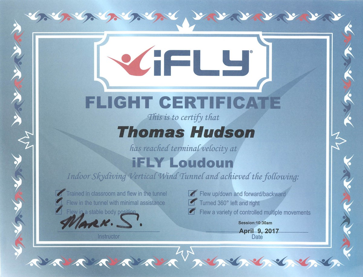 We All Flew At Ifly Hudson Chatter