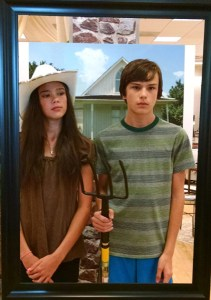 American Gothic, at Suburban Sit