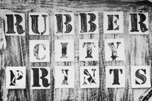 Rubber City Prints, Akron Ohio