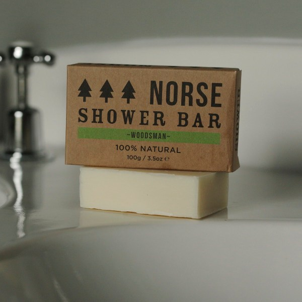 Norse Woodsman Shower Bar