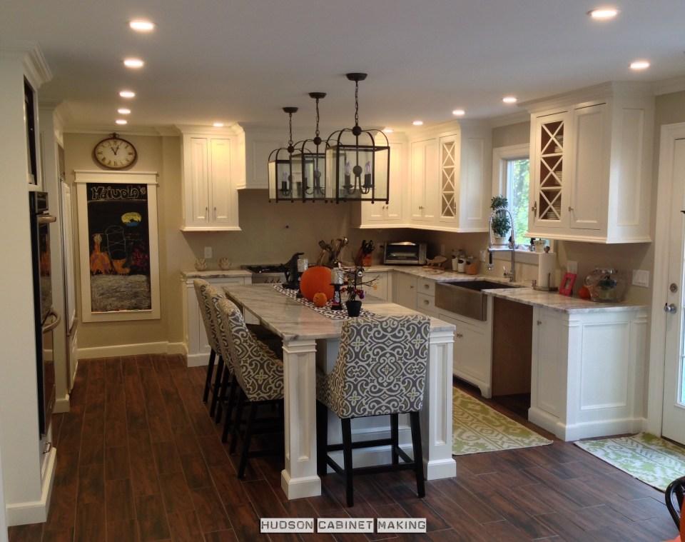 newly installed kitchen waiting for dishwashers