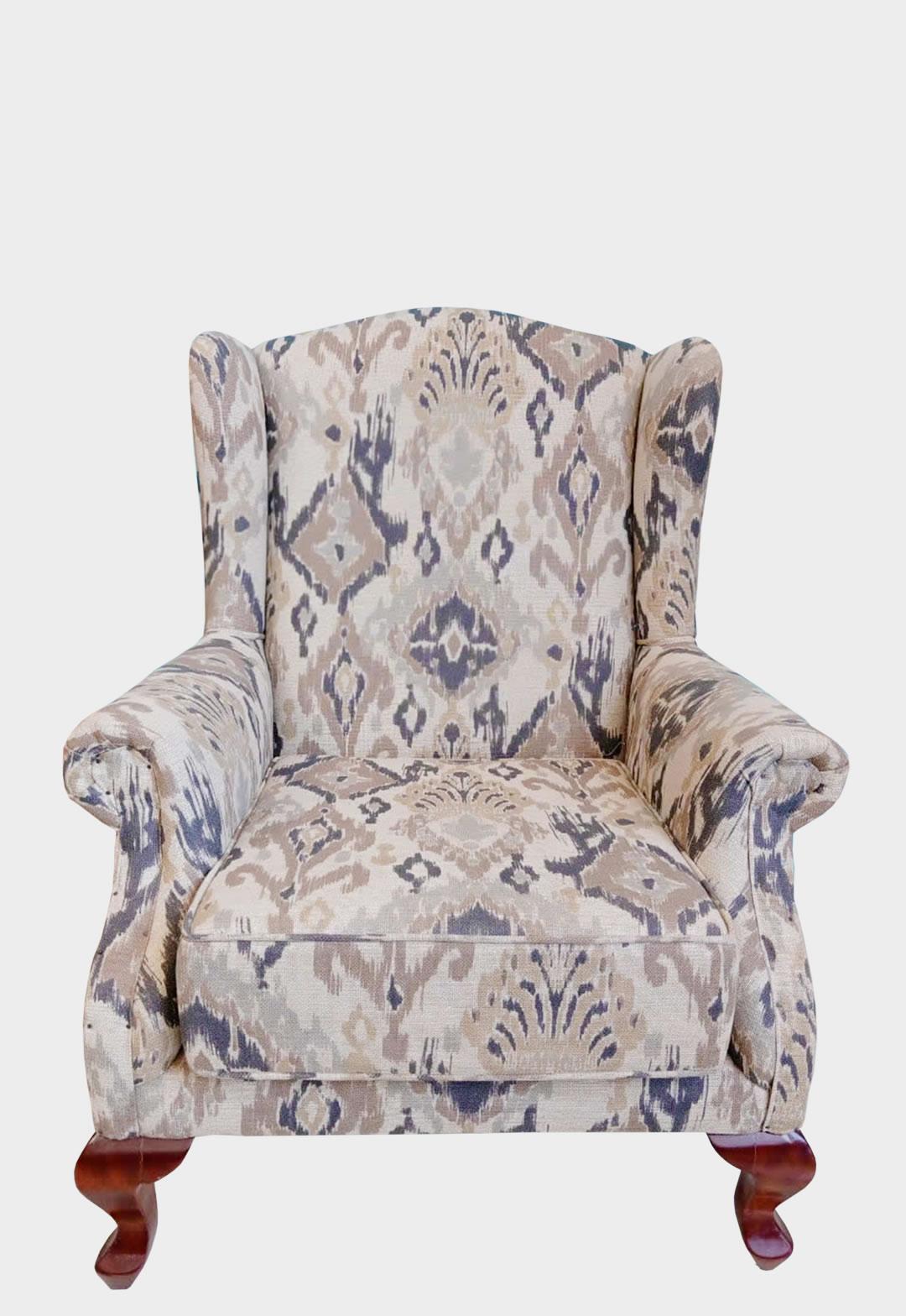 Accent Chair Pattern Fabric Hudson Furnishing