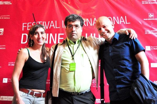 Members of the Jury of the Iberoamerican Documentary Short Film Contest
