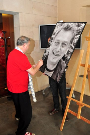 Press conference of Stephen Frears