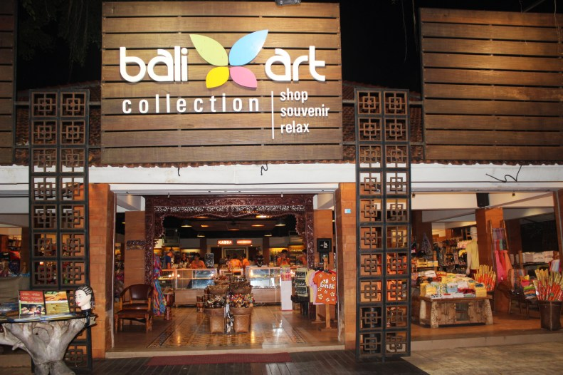 Places to shop in Bali Collection mall, Trip tp Bali