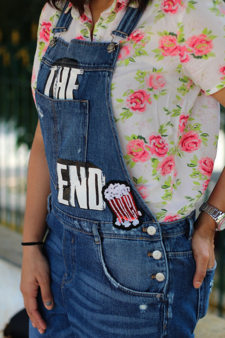 Dungaree, Denim overall, Huesofme, Indian blogger