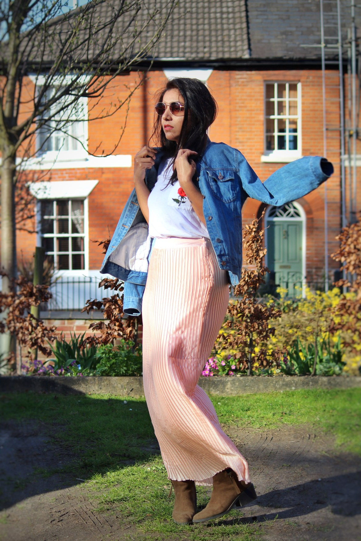 Spring essentials, transitional outfits, spring/summer 2017, spring in UK, Huesofme