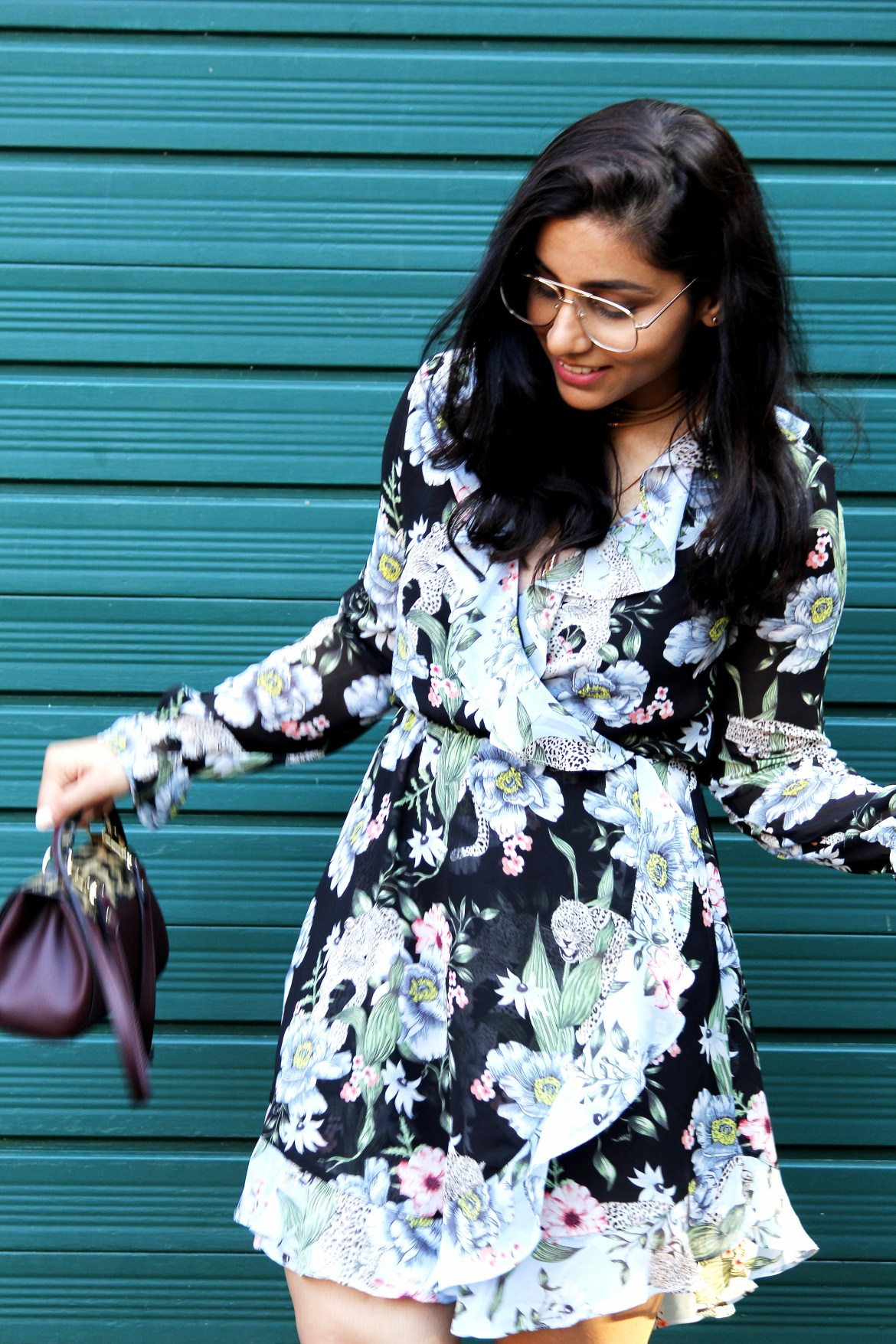 Perfect summer dress, how to wear florals this summer, UK bloggers