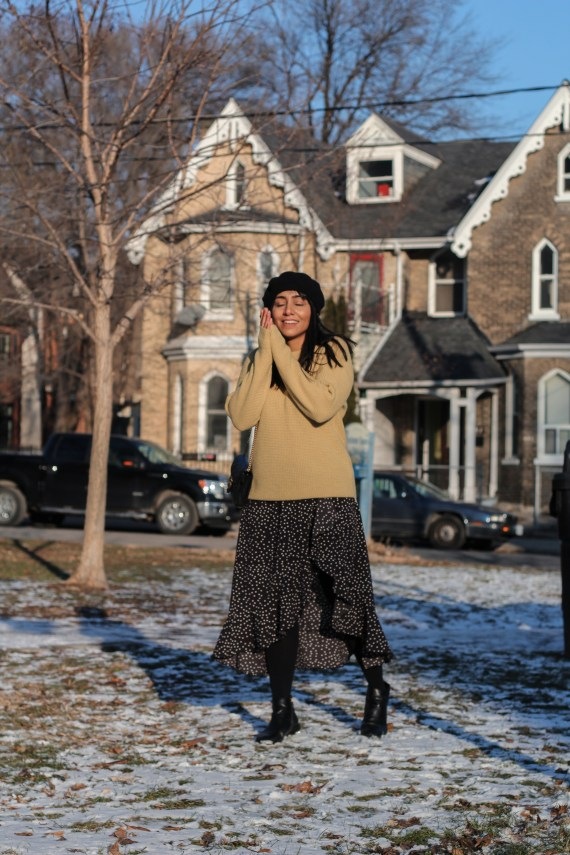 Toronto winter style lookbook, New Year 2019 Objective