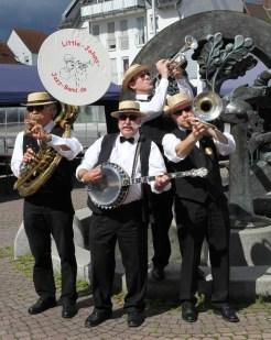 Little Johns Jazz Band auf dem Käsemarkt in Hüsten!
