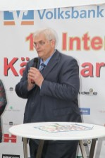 Bürgermeister Hans Josef Vogel eröffnet den 14. Käsemarkt