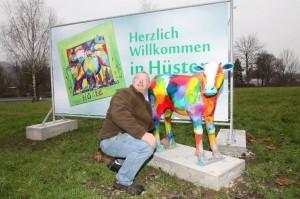 Willi Tillmann sorgt für die Standfestigkeit