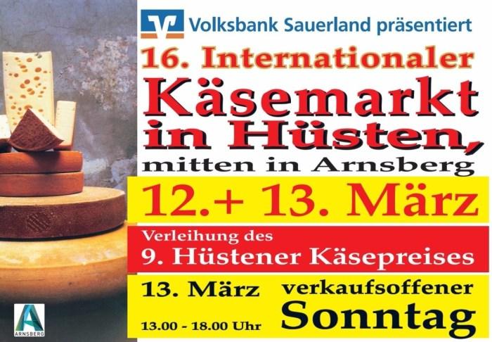 Plakat Käsemarkt 2016
