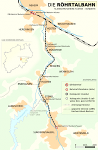 Röhrtalbahn Streckenführung, von Runkelbold (Eigenes Werk) [Public domain]