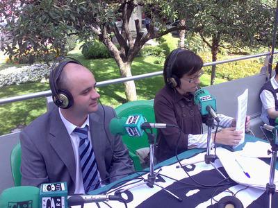 EL ALCALDE EN LA RADIO