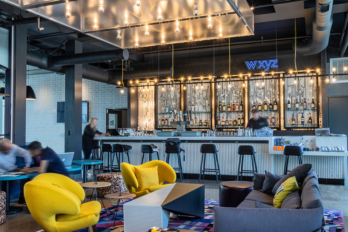 Aloft Hotel Is Open For Business Huff Construction