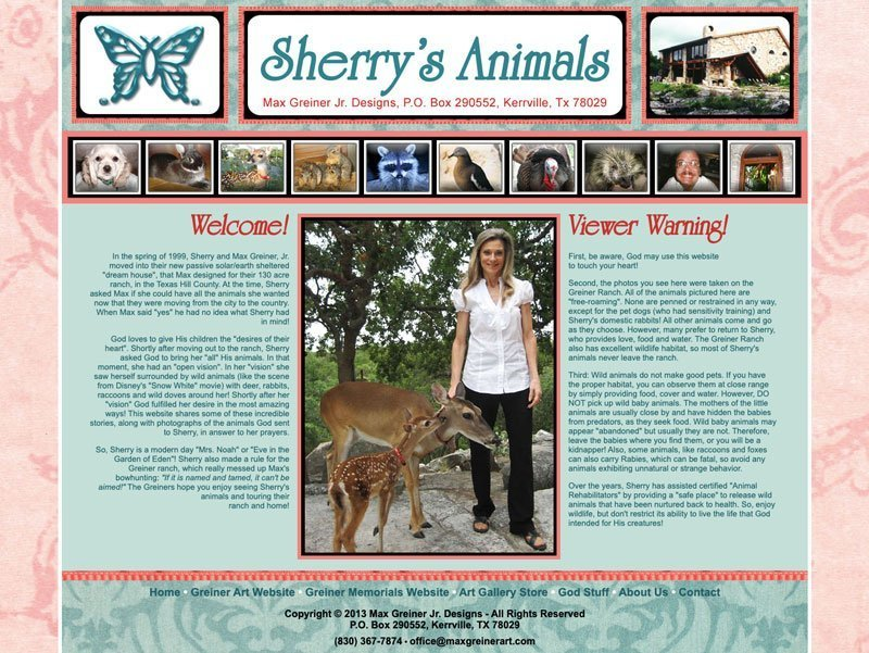 Sherry's Animals