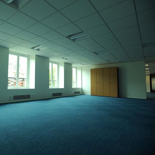 Aménagement en open space des bureaux